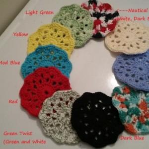 Cotton Coasters.
