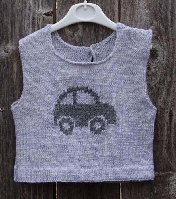 a6bca7a75 Hand Knit Vest