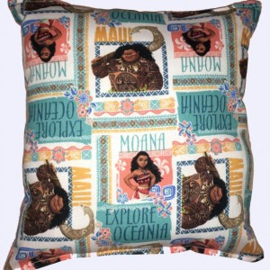 Details about  Moana Pillow New Disney MOANA 2016 Movie Pillow Handmade In USA Moana