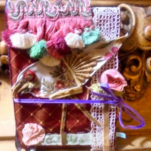Hand Crafted Altered Art Book Journal
