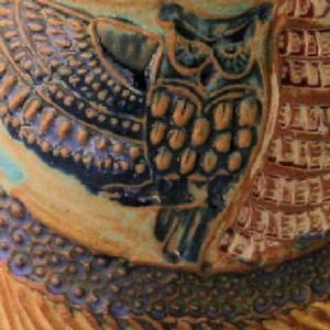 Owl Mug Pottery Hand Made Microwave and Dishwasher Safe
