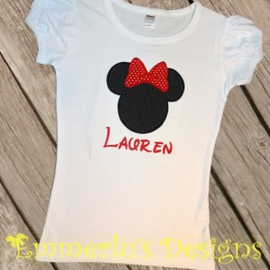 Miss Mouse Shirt or Bodysuit