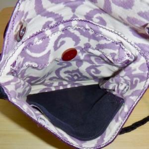 Purple Passion Purse, shoulder bag, cute compact