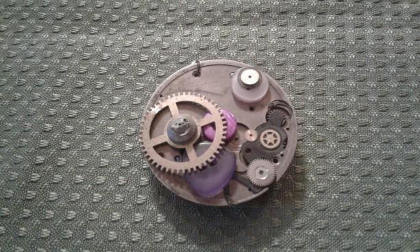 Steampunk Button Pendant