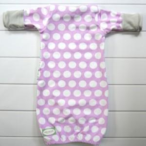 Swan Newborn Baby Gown Set
