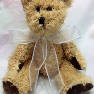 Wax scented Bear - Baby Powder