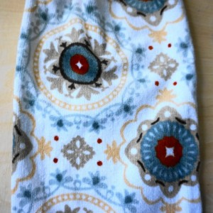 Marvelous Madallion Crochet  Top Towel, Kitchen Hand Towel, Crochet KitchenTowel
