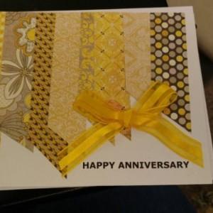 Handmade Anniversary Cards
