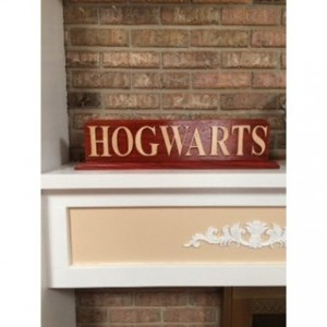 Personalized Handmade Wood Sign with Base