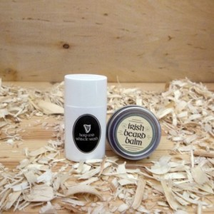 Harp and Whistle Beard Wash and balm Sample Combo