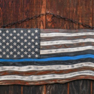 Medium American Thin Blue Line Flag