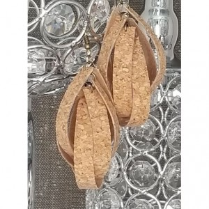 3D Teardrop - Cork Au Natural