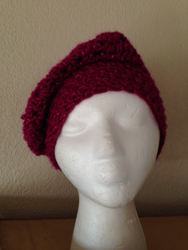 Slouch hat (Burgundy)