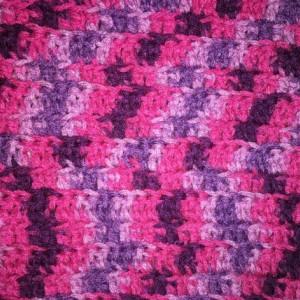 Afghan, Crochet Blanket, Lap Blanket, Baby Blanket , Throw Blanket , Baby Shower Gift Purple and Pink