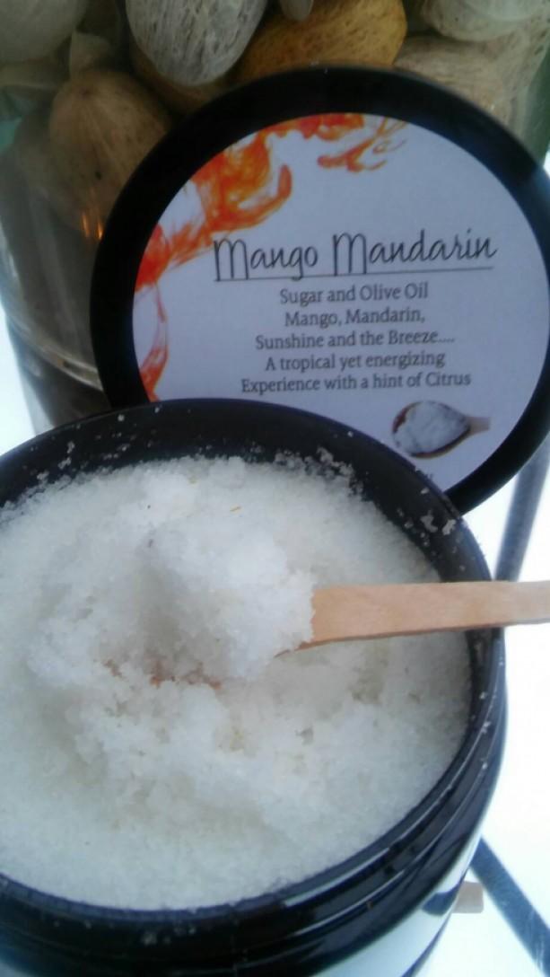 Mango Mandarin Body Scrub