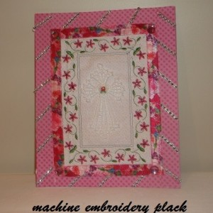 machine embroidery fsl angel