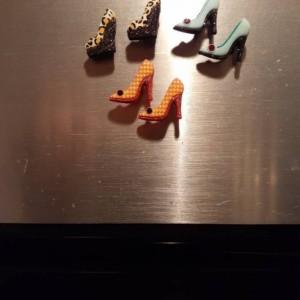 Magnets, 6 Strong Refrigerator Magnets, Cubicle Decor, Locker Magnets, Office Supply,Heels,High Heels,Stilettos