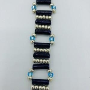 """6 1/2"""" Woven Beaded Bracelet"""