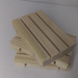 100 Wooden Poplar  Soap Dishes Wholsale