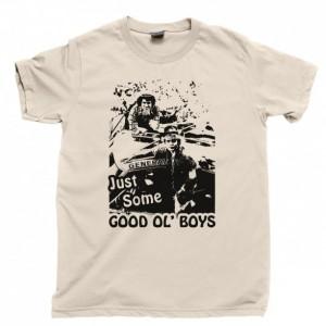 Dukes Of Hazzard Men's T Shirt, Bo And Luke Duke Boys Just Some Good Ol' Boys Waylon Jennings Unisex Cotton Tee Shirt