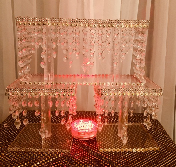 Exotic Crystal Cupcake Stand