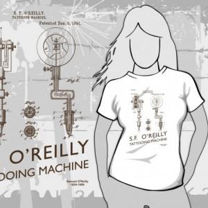 Tattooing Machine T-Shirt
