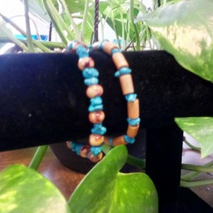 Turquoise bead braclets