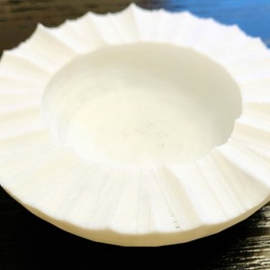 Wavy edge catch- all bowl
