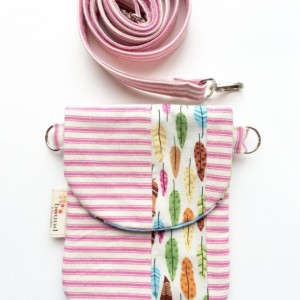 HIP Mini Cross Body Purse - Small Travel Pouch - Cell Phone Purse