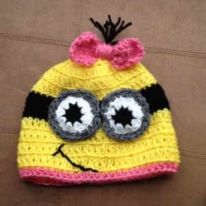 Minion Crocheted Hat