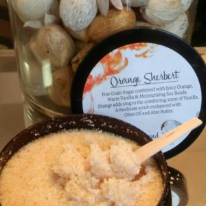 Orange Sherbert Body Scrub