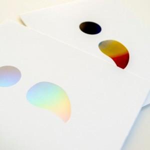 Semicolon [Foiled] Greeting Card (Mental Health Awareness) x2