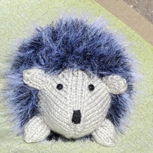 Hedgehog, Hand Knitted Toy, Knit Hedgehog, Stuffed Animal, Grey Toy