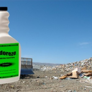 ODOREZE Natural Landfill Odor Control Eco Spray: Treats 2,000 sq. ft.to Destroy Stench