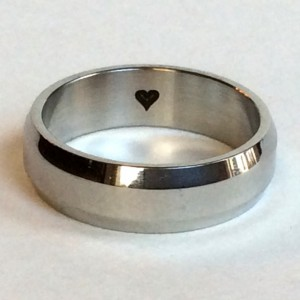 Men's Titanium Steel Ring