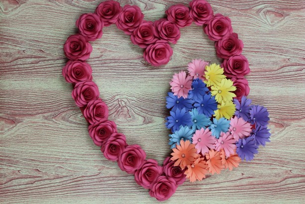 HandMade Wall decoration, heart shape