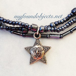 Beaded Stacking Bracelets, Happy Star