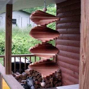"""Cedar Wind Spiral 24"""""""