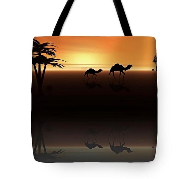 Ships of the Desert Tote Bag