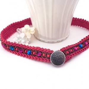 Crystal Jewels Elegant Choker Wrap bracelet
