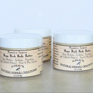 Mega Rich Body Butter with Colloidal Oatmeal, Plant & Fruit Extracts Body Butter, Body Cream, Dry Skin, Hand Cream, Vegan Lotion Moisturizer
