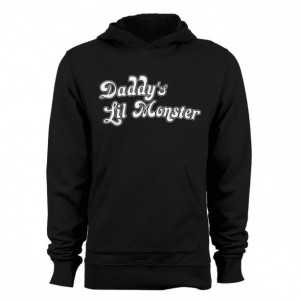 """Suicide Squad """"Daddy's Lil Monster"""" Hoodie"""