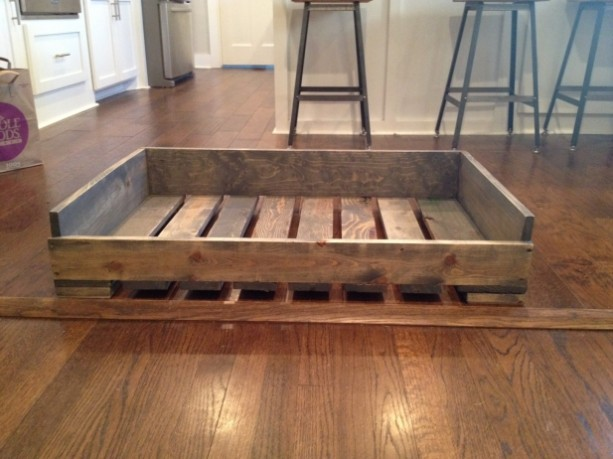 Solid Wood Quot Pallet Style Quot Dog Bed Aftcra