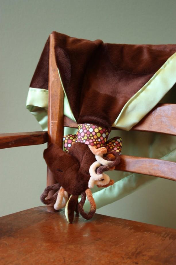 Horse Security Blanket Lovey Blanket Satin Baby Blanket