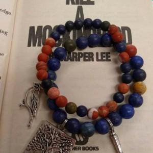 To Kill a Mockingbird bracelet set