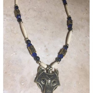 wolf necklace celtic style Ulfhednar warrior style one per purchase