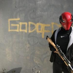 Redhood mask Jason todd arkham Knight