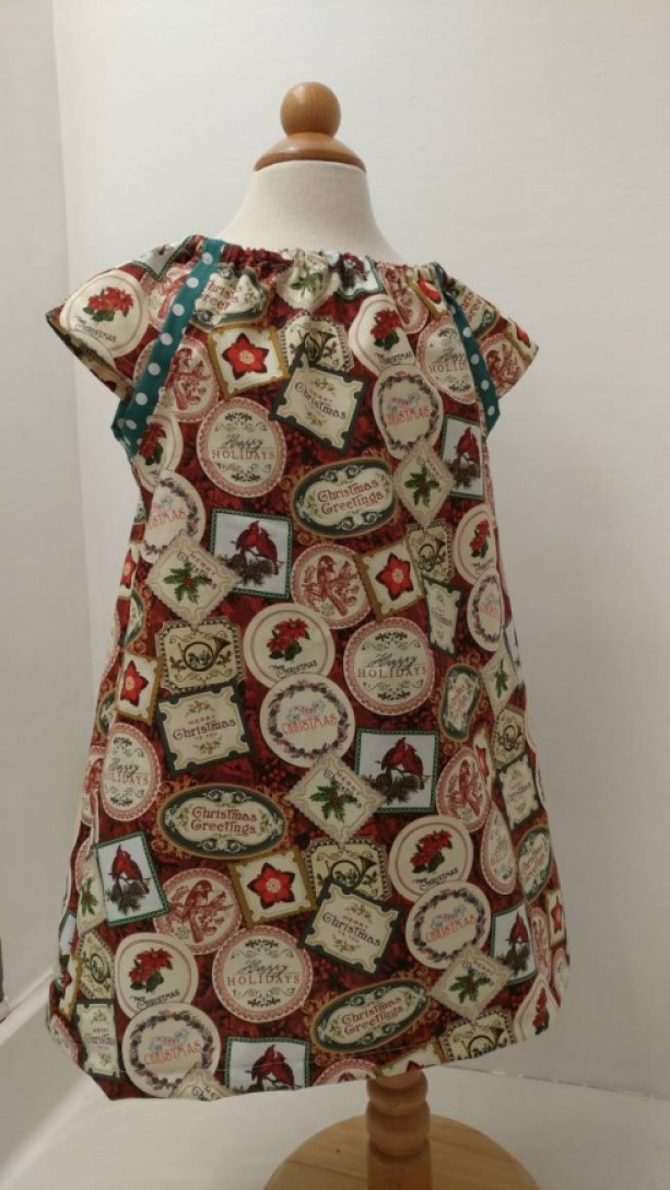 Christmas Greetings Dress