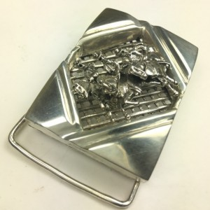 Ghost riders Gents sterling silver Belt Buckle