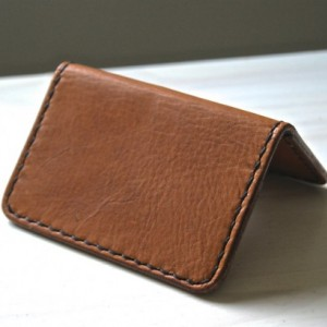 Slim Leather Wallet, Minimalist Card Wallet, Leather Card Wallet, Men's Leather Wallet, Leather Bifold Men's